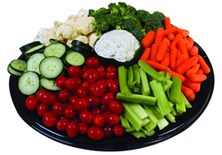 Party trays at Riverside Fresh Market